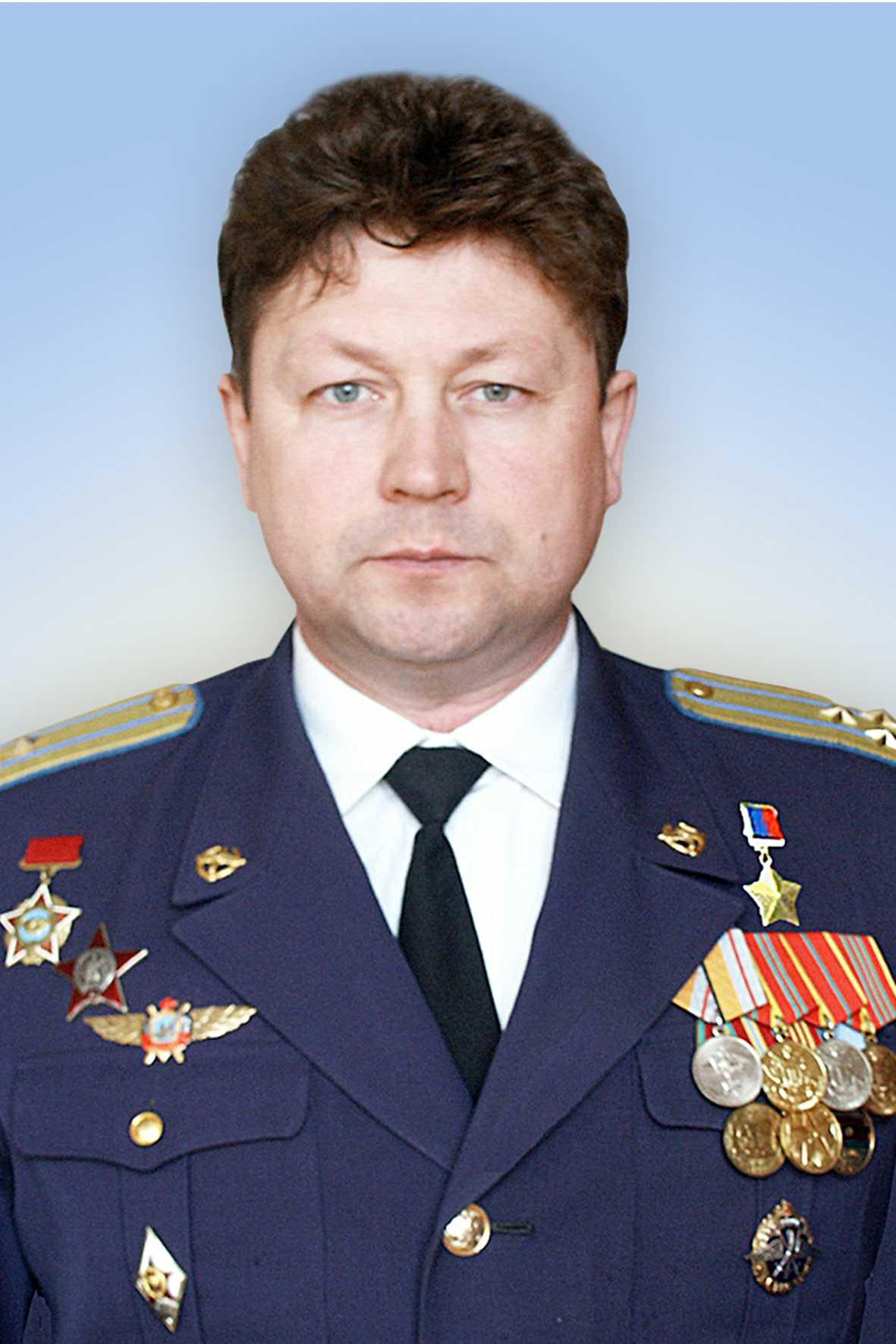 Герой Российской Федерации полковник Маслов Сергей Владимирович