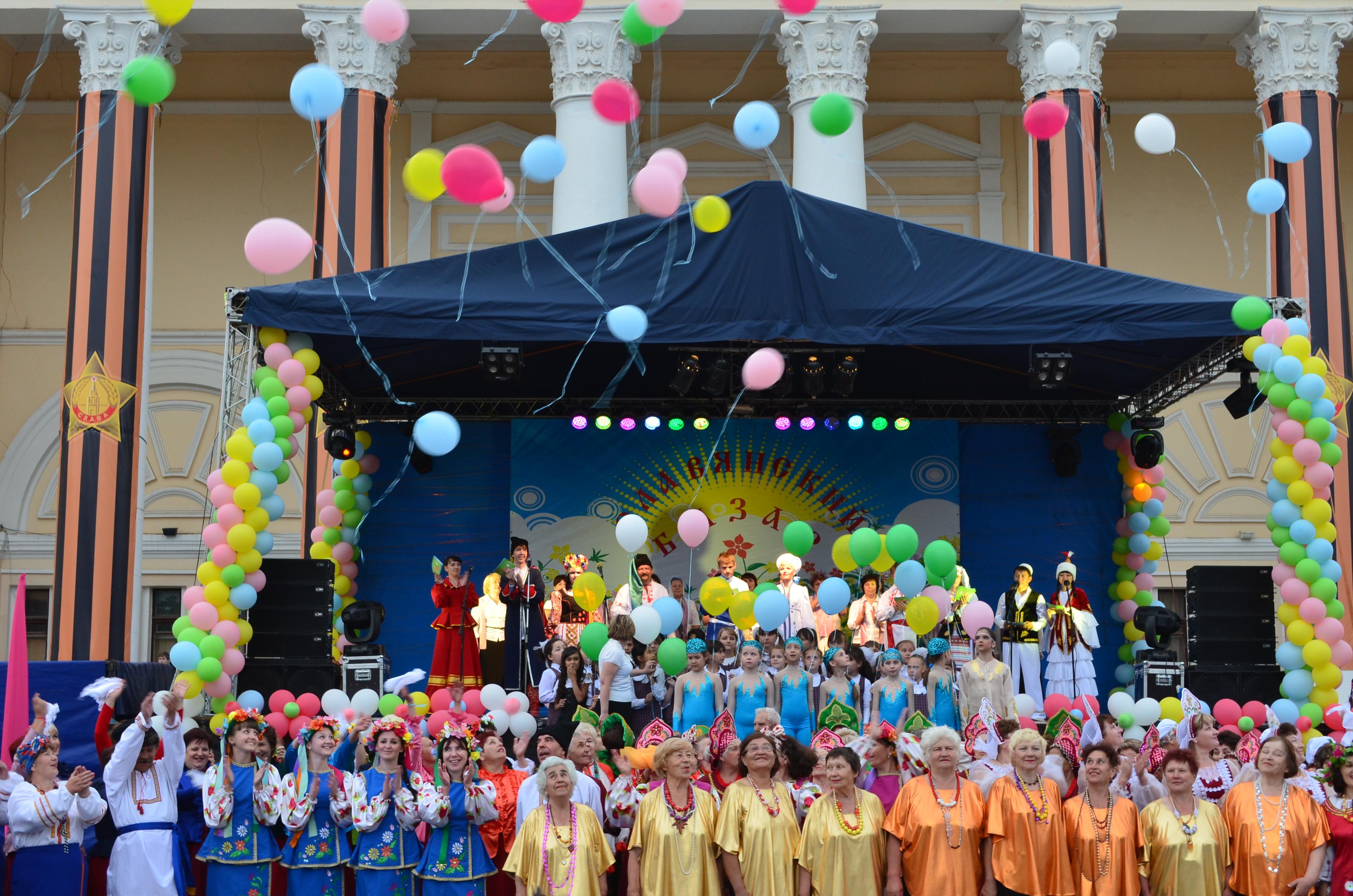 Фестиваль «Славянский базар» прошел в Ахтубинске