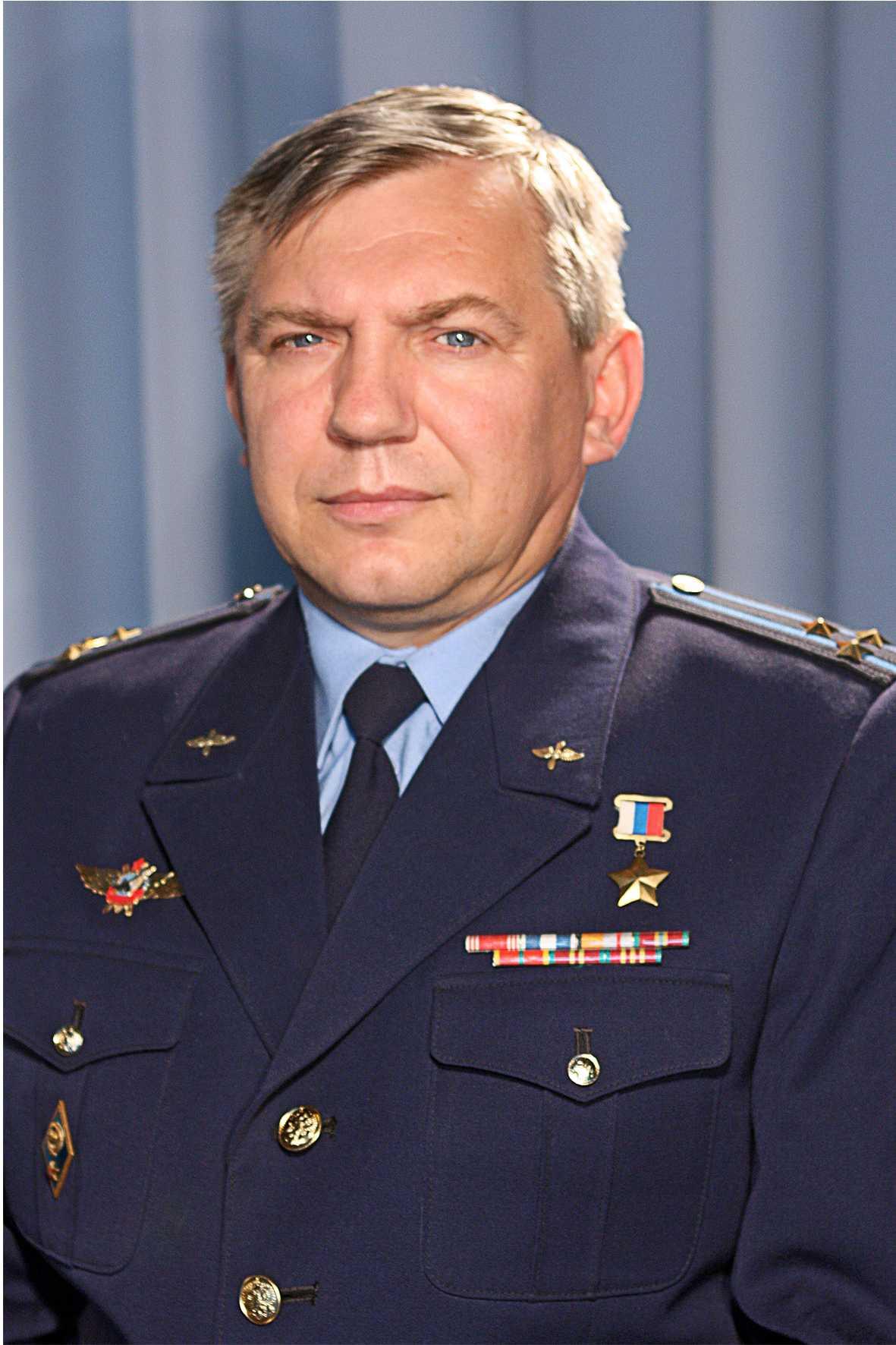 Герой России полковник Крицкий Вячеслав Николаевич