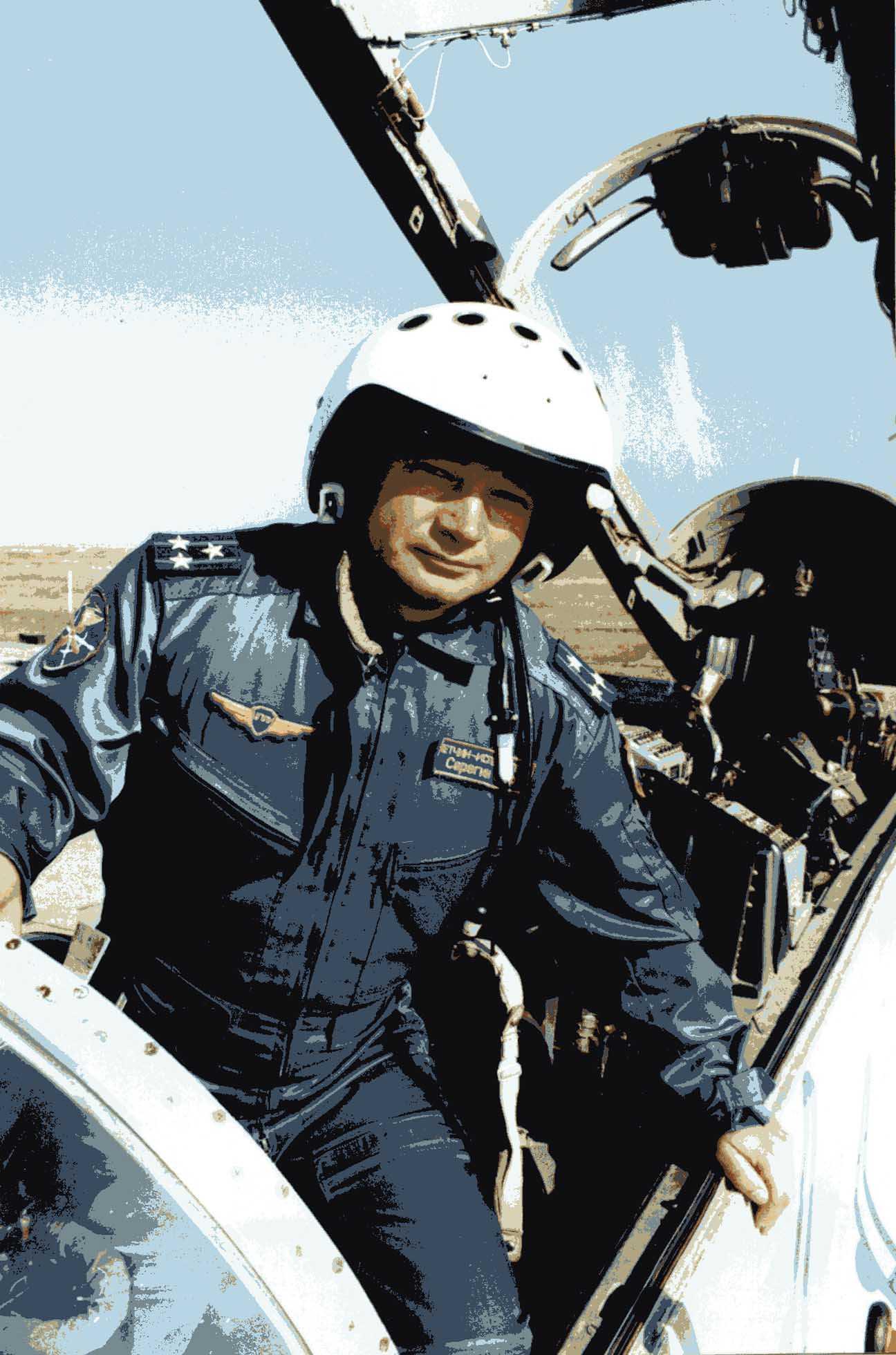 Шесть степеней свободы.                               Один день из жизни летчика-испытателя