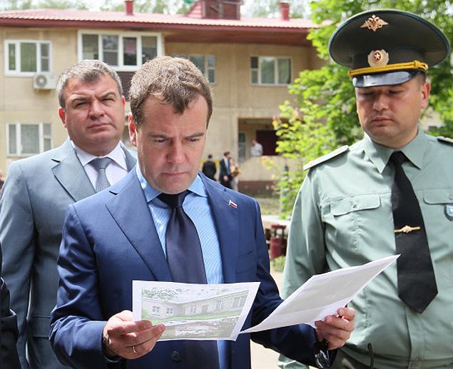 Премьер раскритиковал военное ведомство за затяжку передачи земли и имущества муниципалитетам