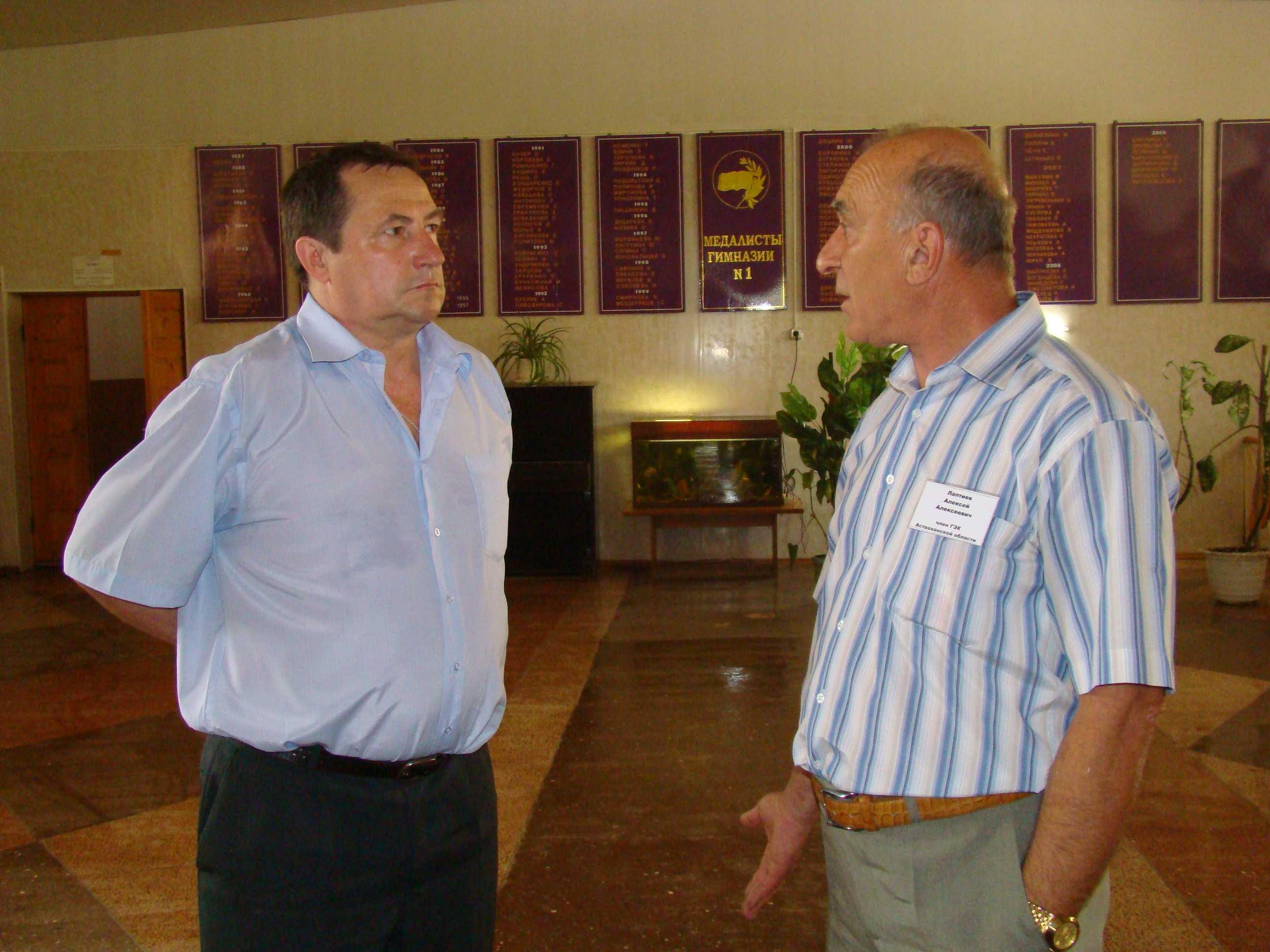 У министра своя система поощрения: Областная августовская педагогическая конференция  будет проходить на базе Ахтубинска