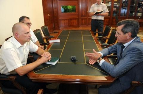 Новый военный комиссар Астраханской области вступил в должность
