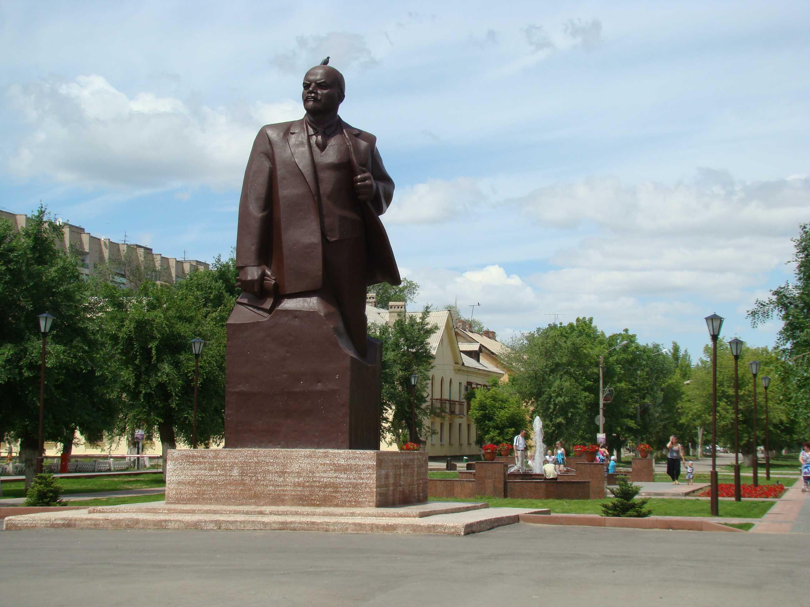 Памятники нашего города. Начинаю про Ленина рассказ