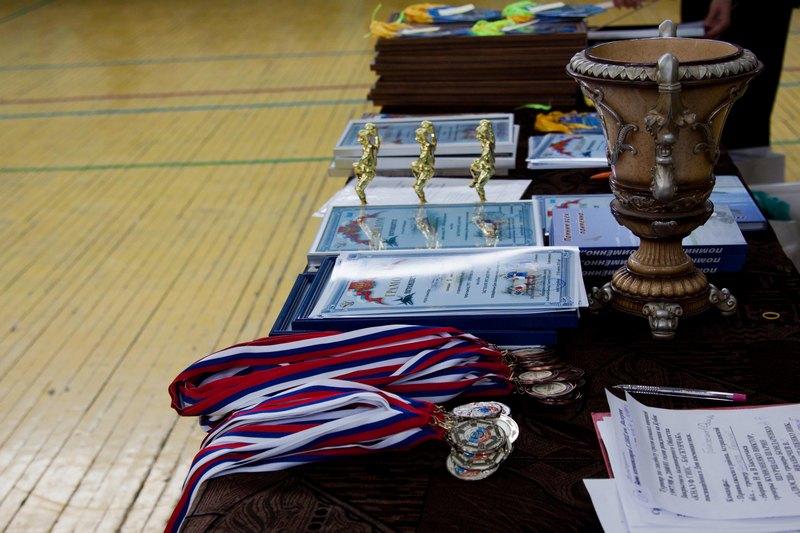 Ахтубинские волейболисты разыграли Кубок