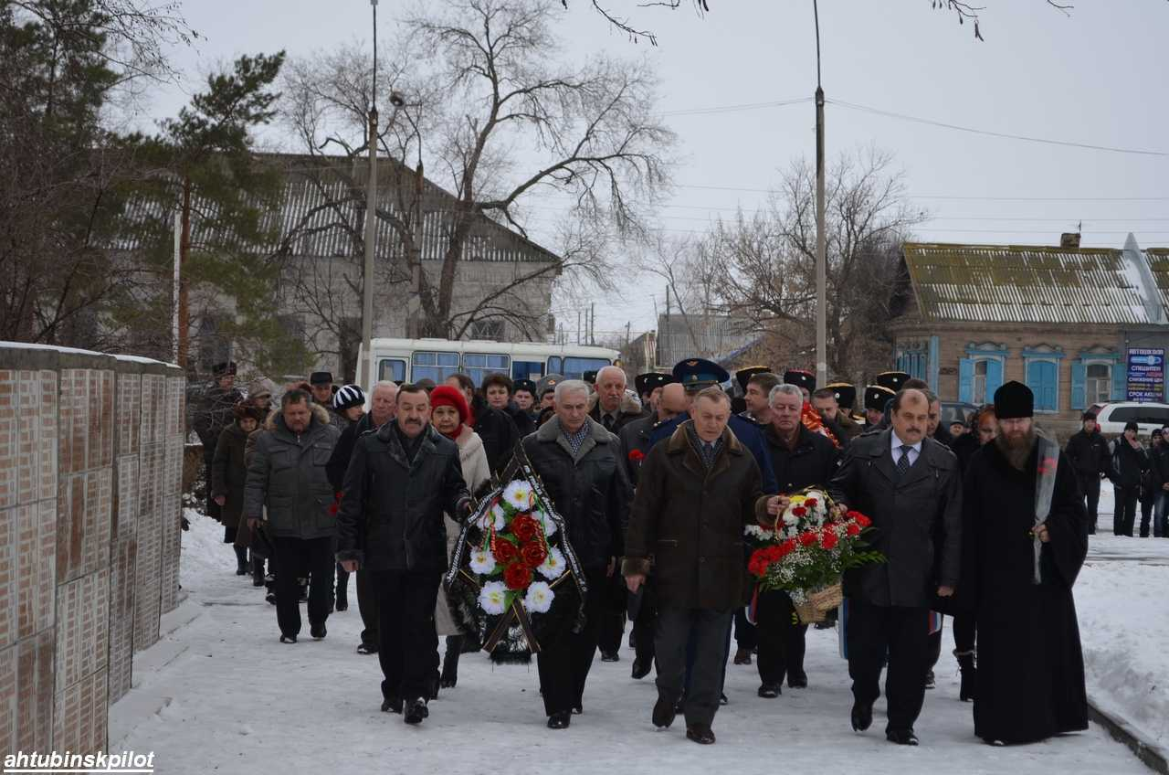 Вместе с волгоградцами 70 -летие победы в Сталинградской битве отпраздновали ахтубинцы