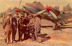 Юбилей Берлинского орденов Суворова и Хмельницкого авиационного полка