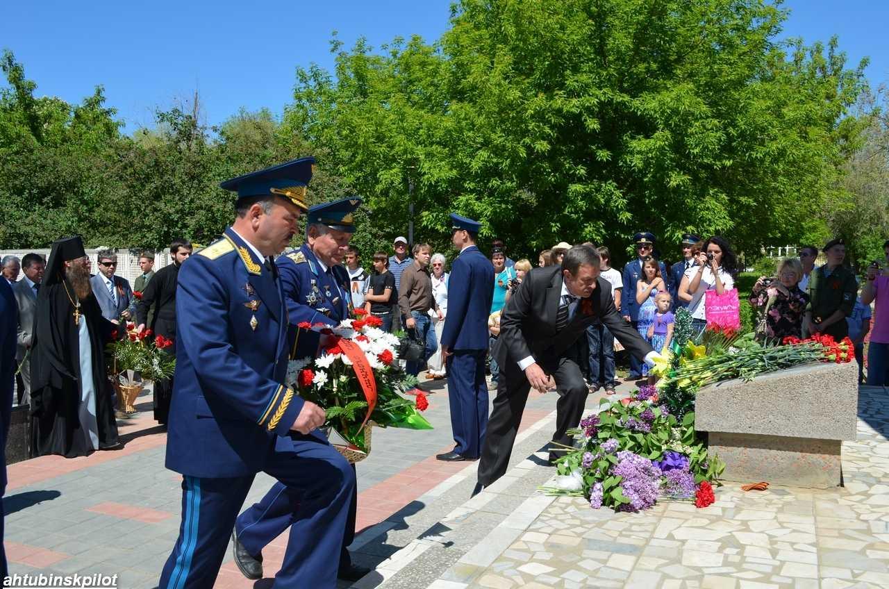 Кульминацией праздника стали торжественные мероприятия на площади Победы