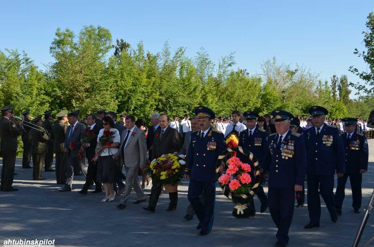 Торжественные мероприятия в Ахтубинске начались на «Крыле Икара»