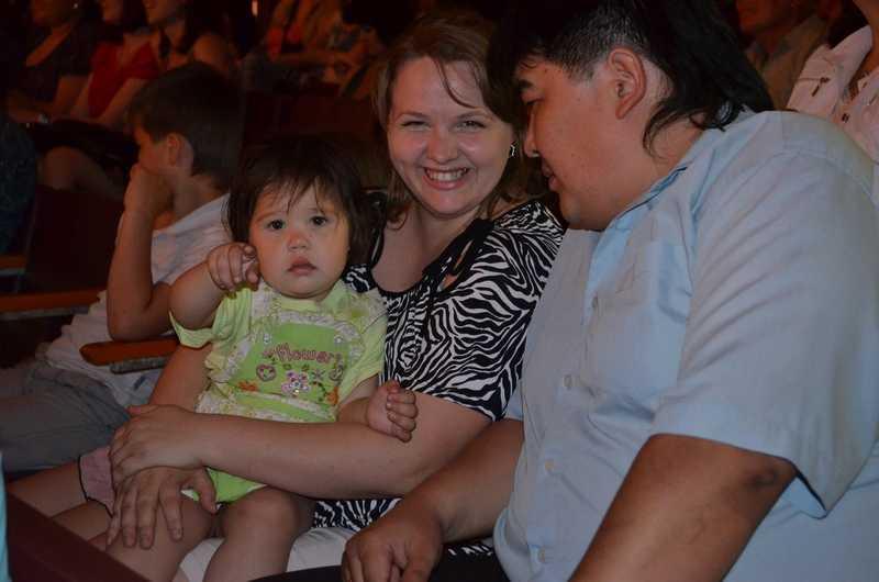 В Ахтубинске чествовали лучшие семейные пары
