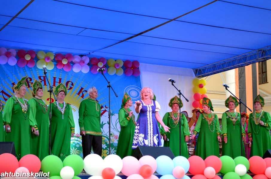 Фестиваль многонациональных культур «Славянский базар» прошел в Ахтубинске