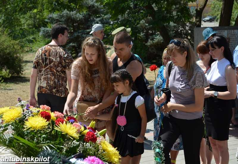 В Ахтубинске прошел митинг-реквием посвященный годовщине начала Великой Отечественной войны