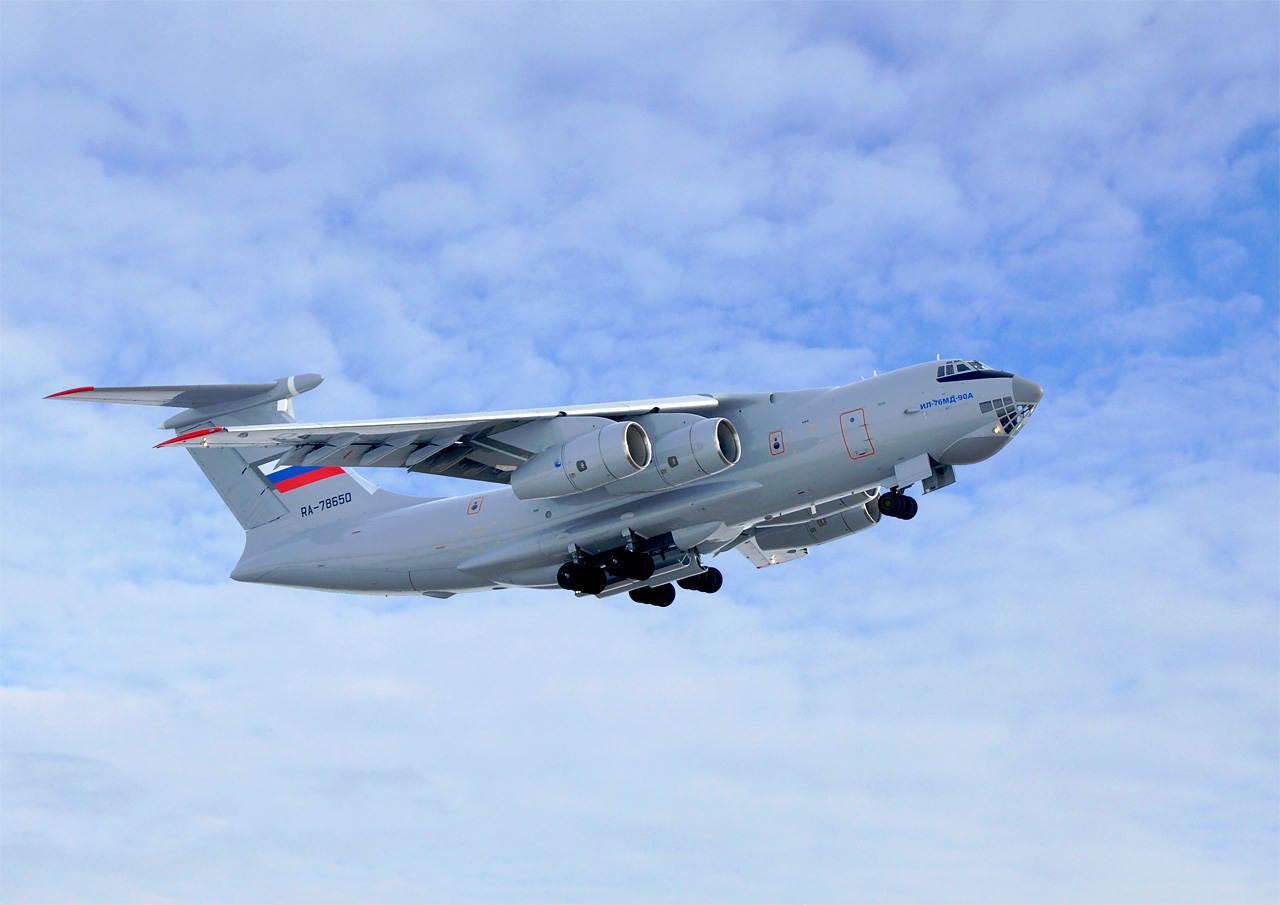 Ил-76МД-90А приступил к первому этапу государственных совместных испытаний