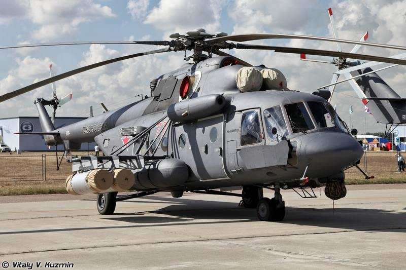 Минобороны РФ заказало 40 модернизированных вертолетов Ми-8