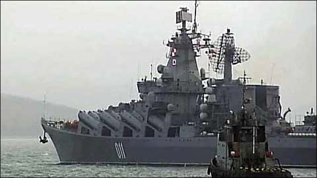 Российский флот не получал вводной с кем-либо воевать, но готов к любым действиям по защите российских национальных интересов в регионе