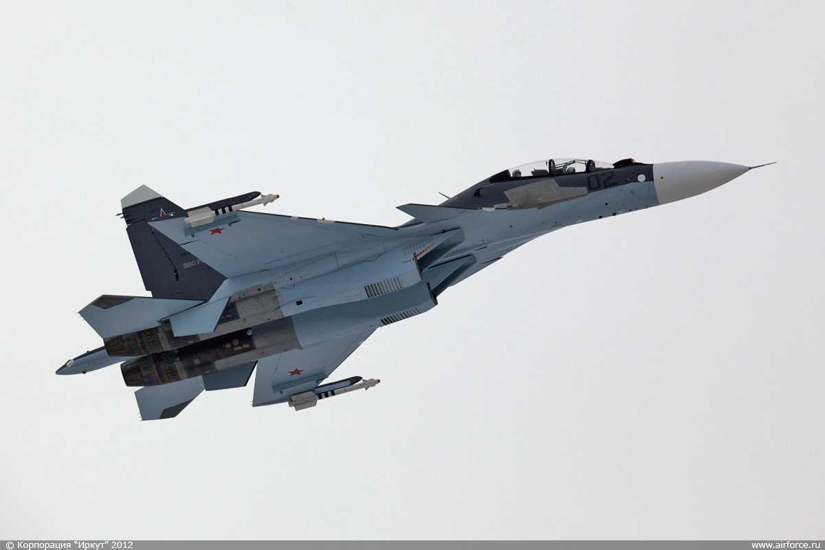 ВВС России дали предварительное заключение по результатам летных испытаний самолета Су-30СМ