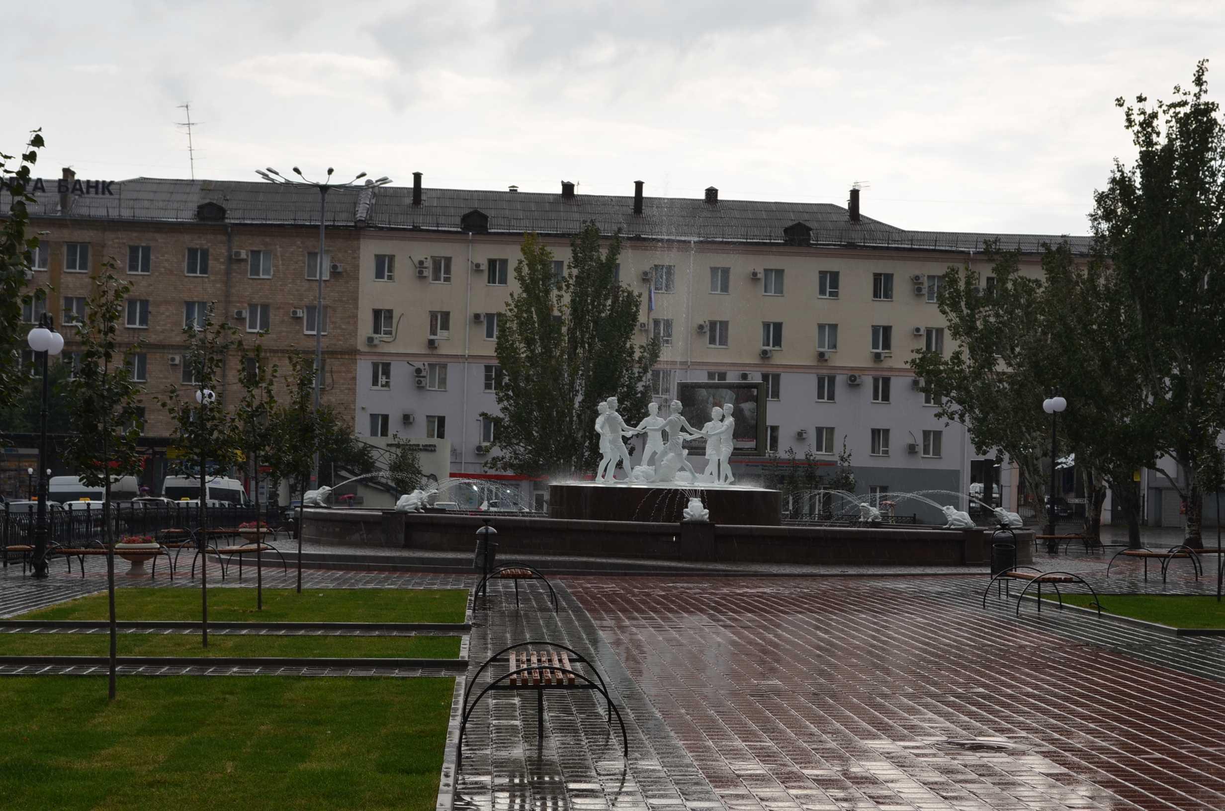 История одного фонтана
