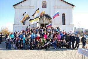 В Ахтубинске прошла всероссийская акция «Русская пробежка»