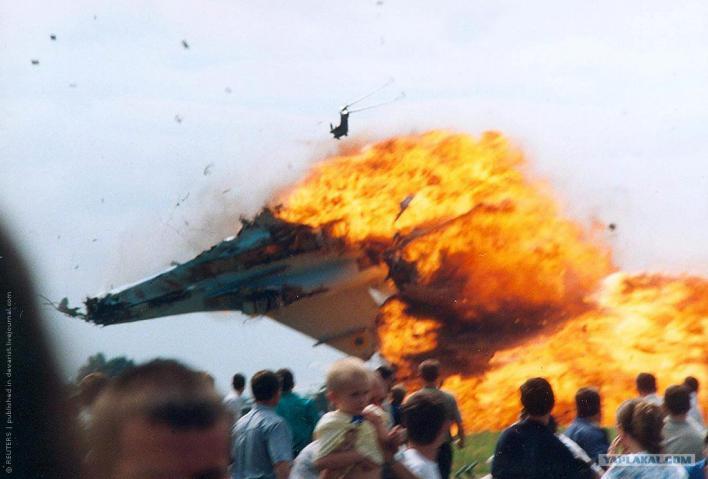 Почему боевые самолеты падают в мирное время?
