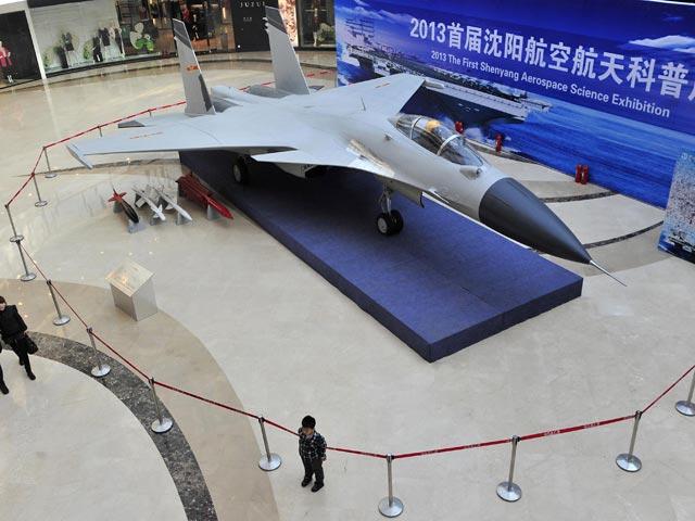 Китай запустил в серийное производство «пиратскую» копию российского палубного истребителя