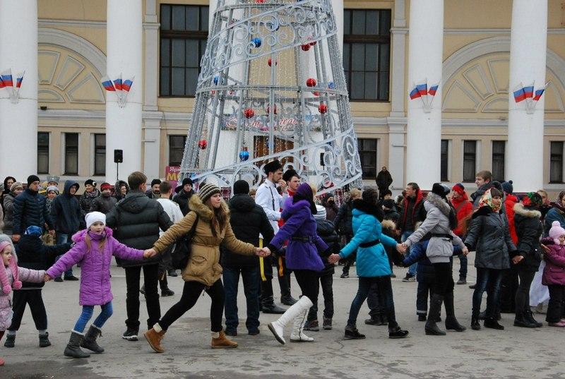 В Ахтубинске состоялась русская вечёрка
