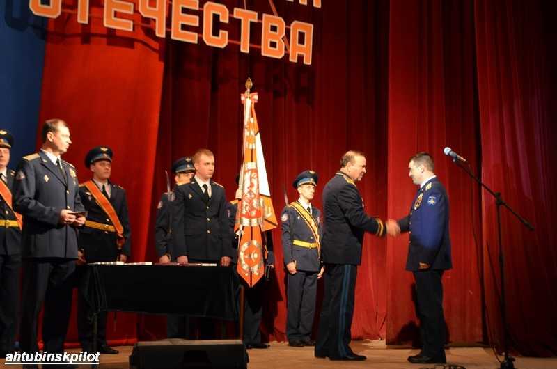 В Ахтубинске чествовали защитников Отечества