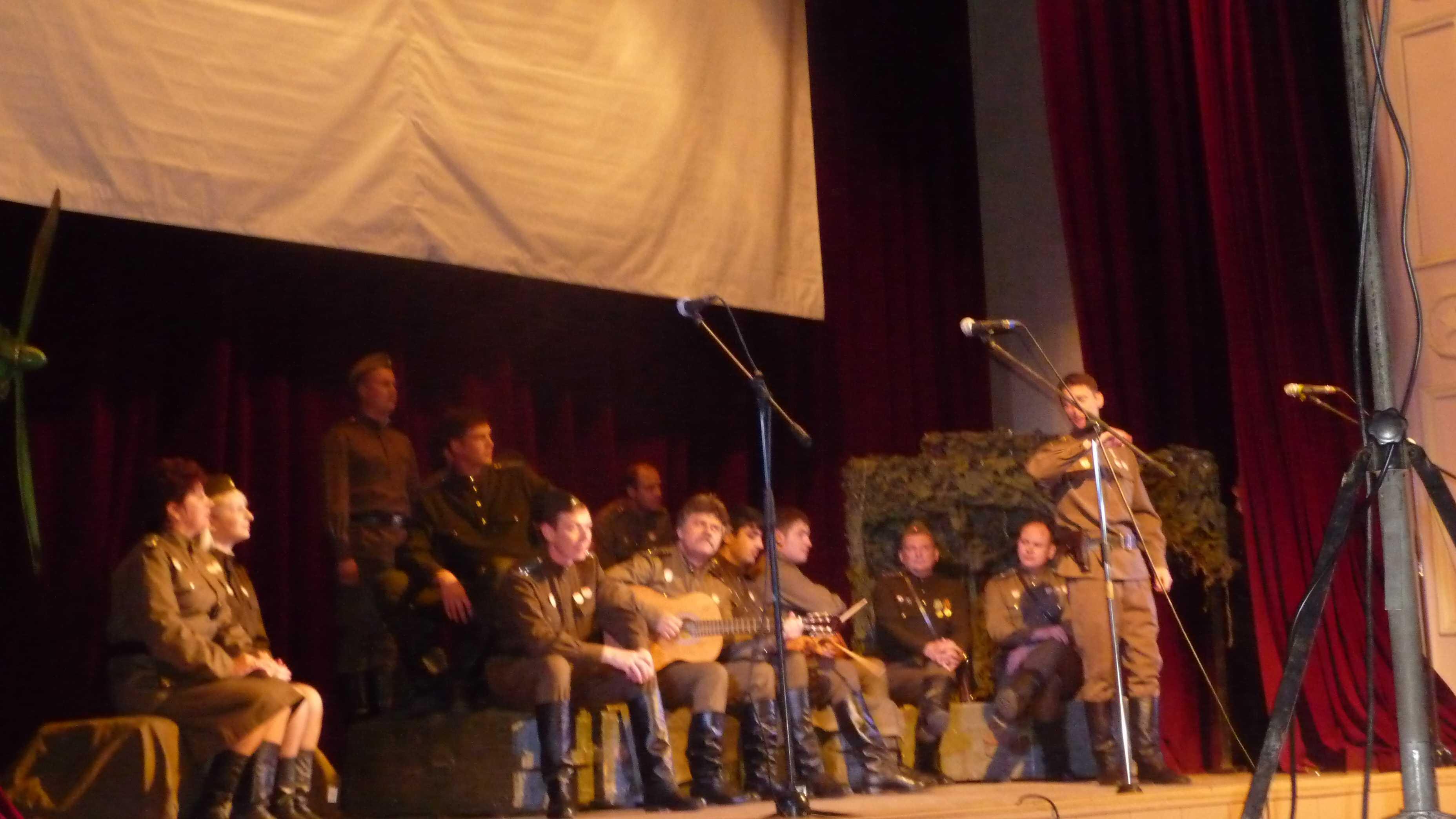 7 февраля в 12 часов на сцене Дома офицеров театральная постановка «В бой идут одни старики»