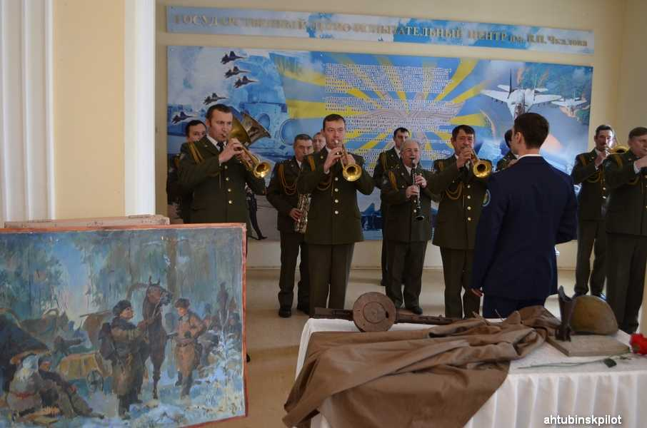 Навечно в памяти горящий Сталинград