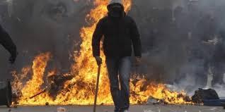 Взгляд на политику сквозь полыхающее пламя Майдана