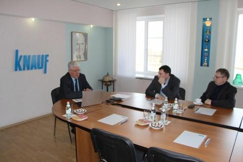 «Кнауф Гипс Баскунчак» — динамично развивающееся предприятие Ахтубинского района