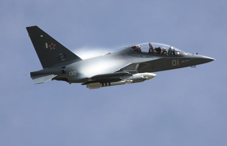 В районе Ахтубинска потерпел катастрофу учебно-боевой самолет Як-130 ВВС России