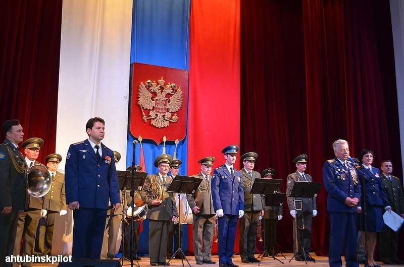 Совет ветеранов ахтубинского гарнизона отметил свой юбилей