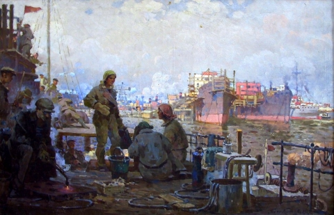 Выставка произведений нашего земляка Петра Котова открылась в Третьяковской галерее