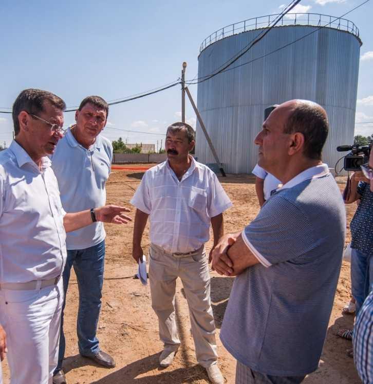 В посёлке железнодорожников решена проблема устойчивого водоснабжения