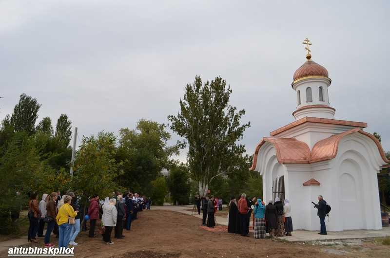 Освящение часовни в честь архистратига Божия Михаила прошло на мемориальном комплексе «Крыло Икара»