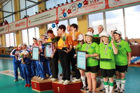 В областной спартакиаде граждан старшего возраста победила команда Ахтубинского района