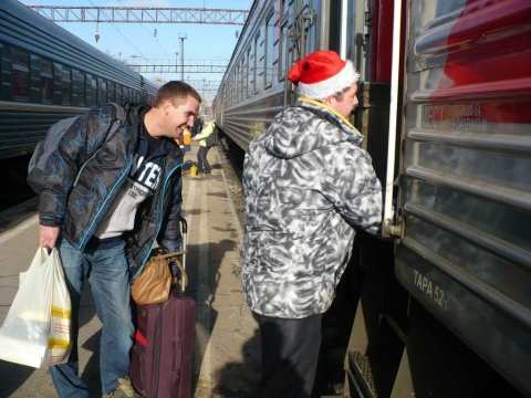 В столицу на Новый год ахтубинцы смогут  поехать на «московском» поезде