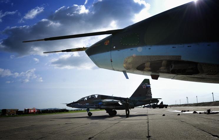 Первый именной штурмовик появился в ВВС России