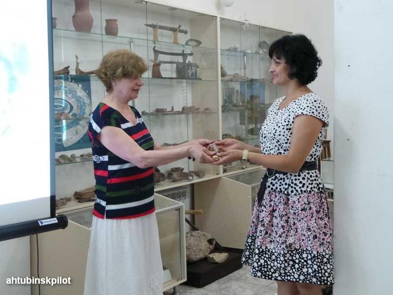В районный  историко — краеведческий  музей передан уникальный экспонат