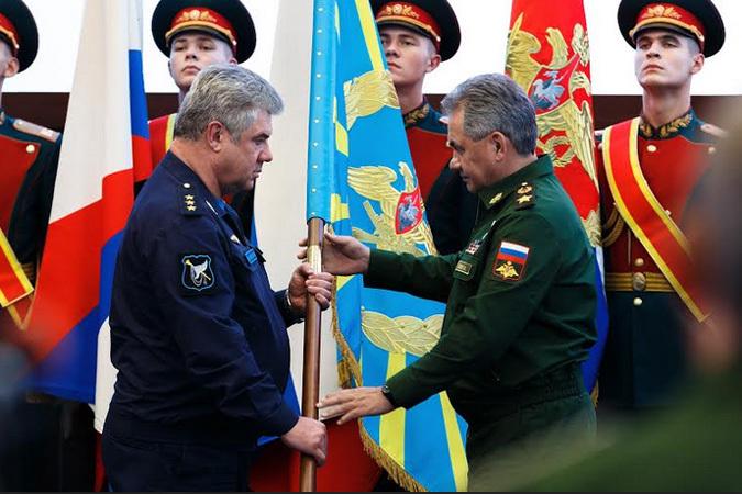 Сергей Шойгу представил нового главкома Воздушно-космическими силами