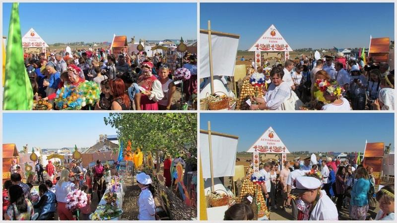 Главной темой на международной этнотуристической ярмарке ахтубинские художники выбрали лук