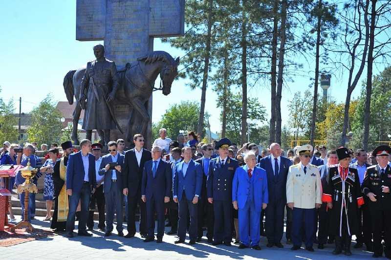 Делегация ГЛИЦ приняла участие в праздничных мероприятиях, посвященных 200-летию кубанской станицы Бриньковской