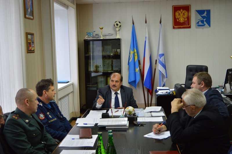 Состоялось заседание районной антитеррористической комиссии