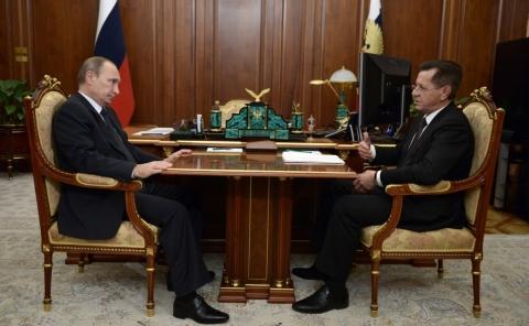 Астраханский губернатор рассказал президенту России о социально-экономической обстановке в регионе