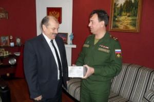 Председатель Регионального отделения ДОСААФ России встретился с Главой Ахтубинского района