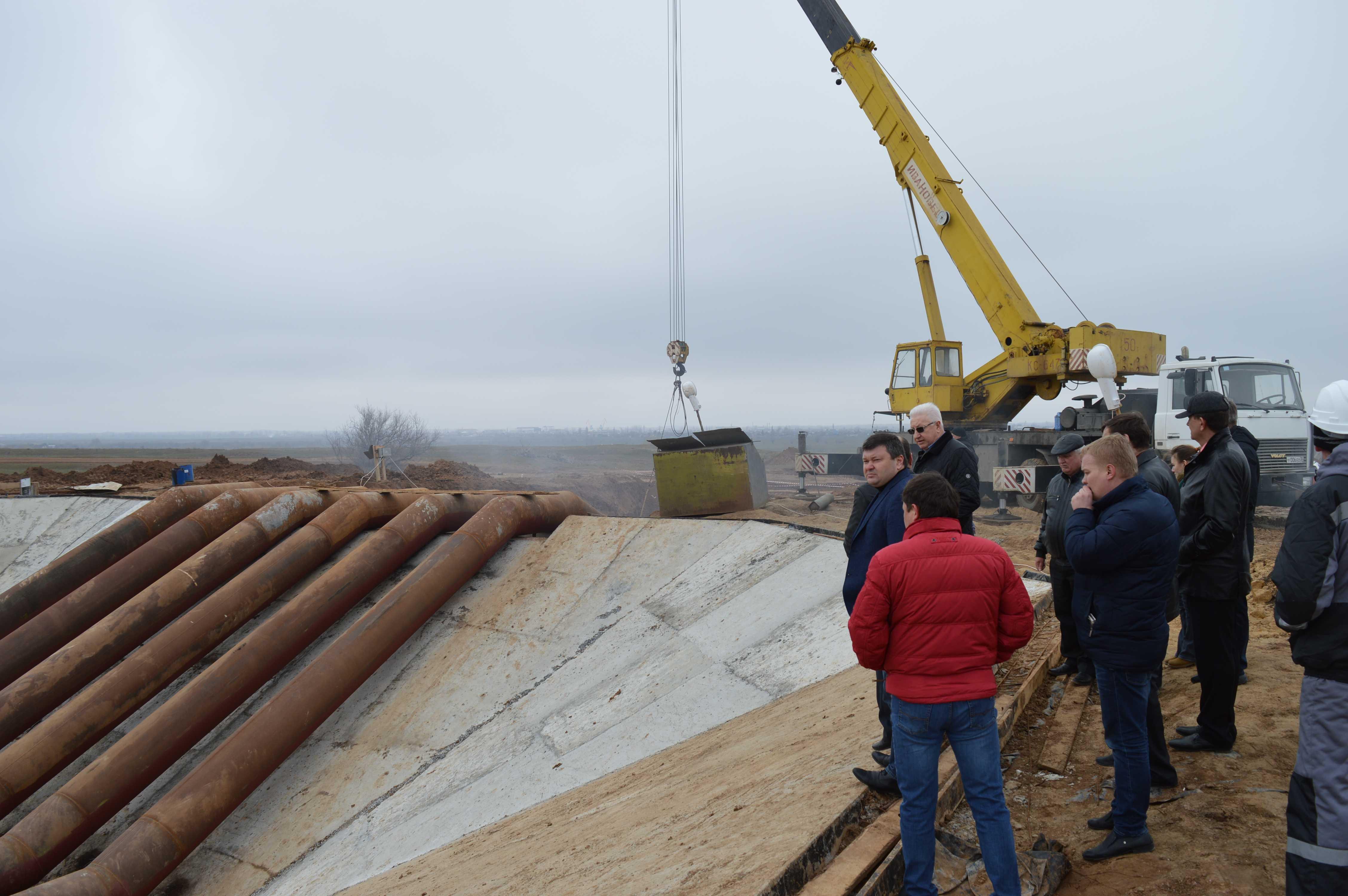 В Ахтубинском районе в реконструкцию двух крупных оросительных систем вкладываются сотни миллионов рублей