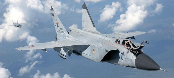 Установлен рекорд длительности полета на МиГ-31БМ