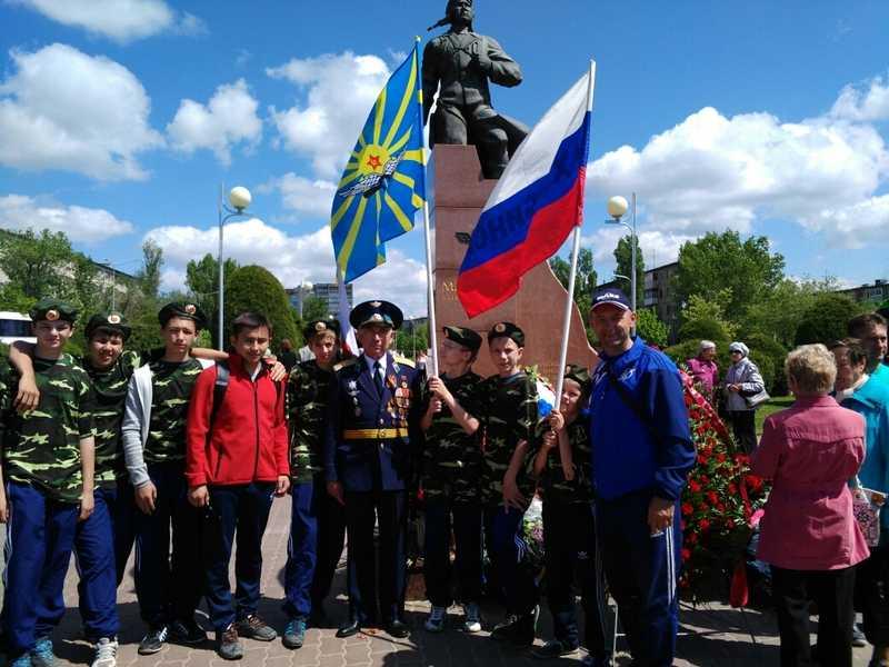 Ахтубинские гандболисты приняли участие в торжествах посвященных 100-летию легендарного Алексея Маресьева