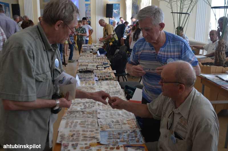 Ахтубинск принял коллекционеров из разных уголков России