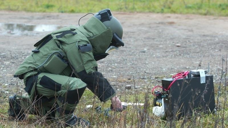 Мины, обнаруженные в районе села Капустин Яр обезврежены